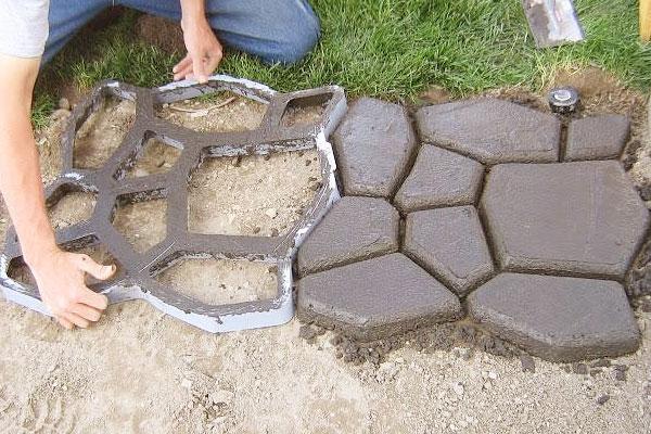 тротуарная плитка под уличный камень