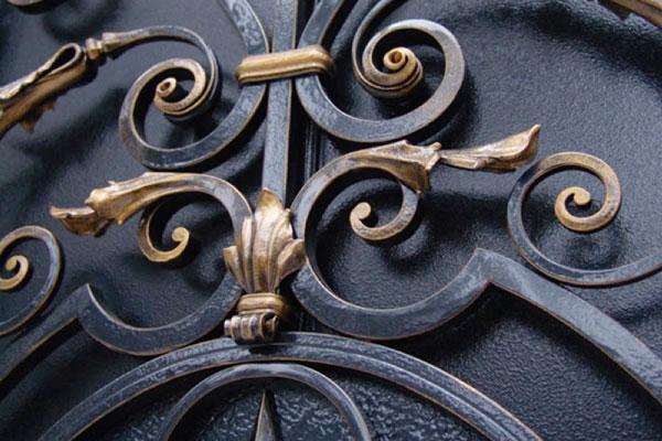 производство и окраска кованых изделий