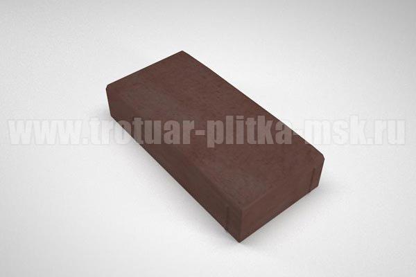 плитка английский булыжник коричневая