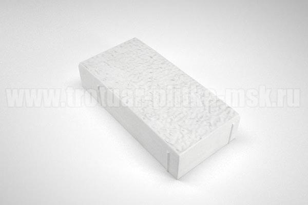плитка английский булыжник белая