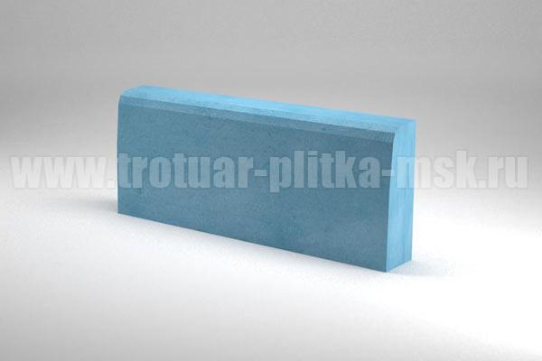 бордюр 500x200x70/65 синий
