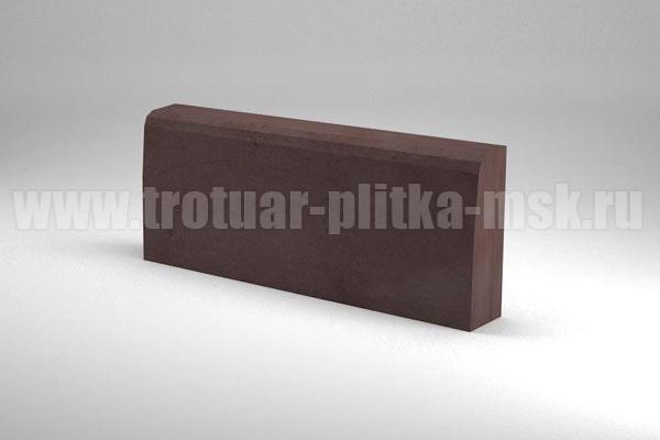 бордюр 500x200x70/65 коричневый