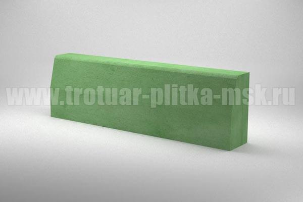 бордюр дорожный зеленый