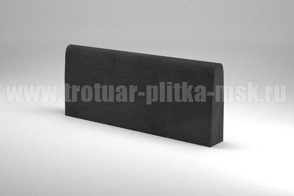 бордюр двухсторонний черный