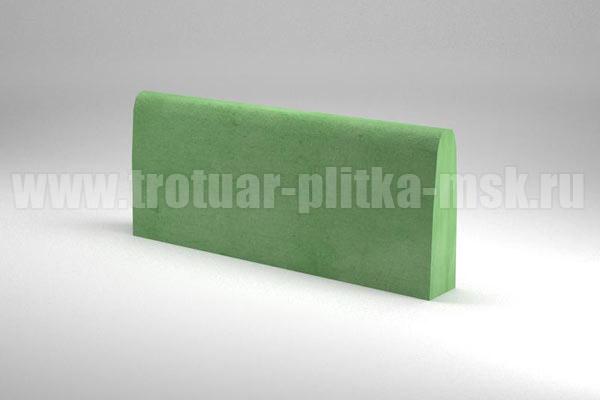 бордюр двухсторонний зеленый