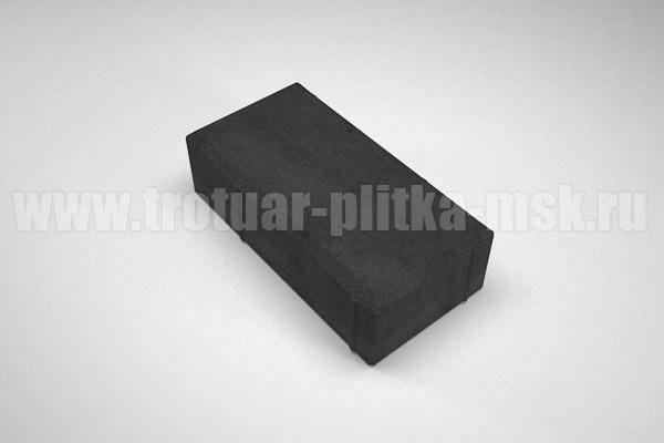 плитка брусчатка вибропресс черная