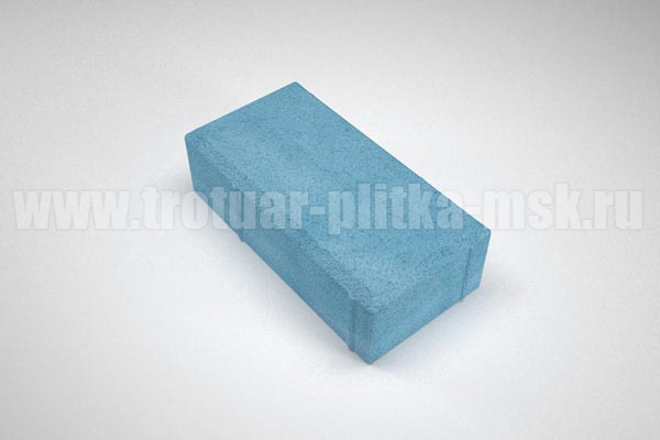 плитка брусчатка вибропресс синяя