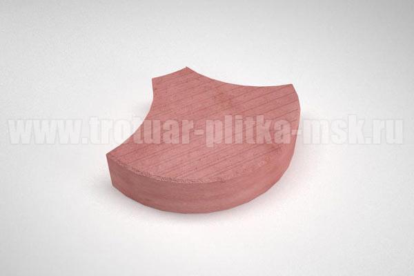 плитка чешуя красная
