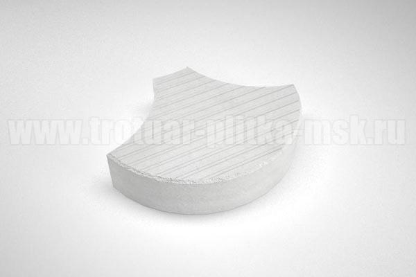 плитка чешуя белая
