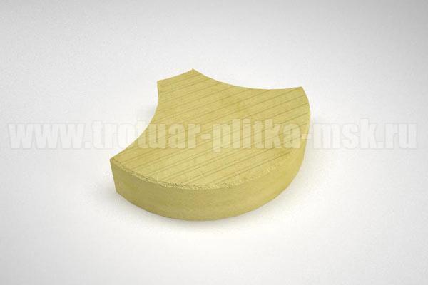 плитка чешуя желтая