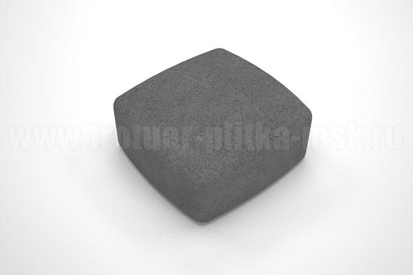 плитка классика вибропресс черная