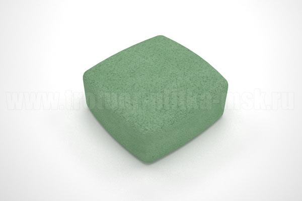 плитка классика вибропресс зеленая