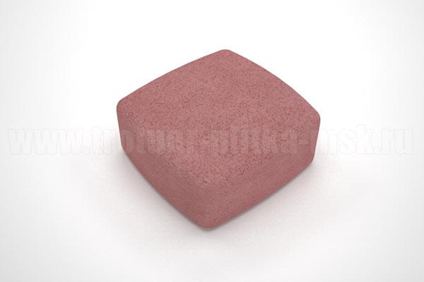 плитка классика вибропресс красная