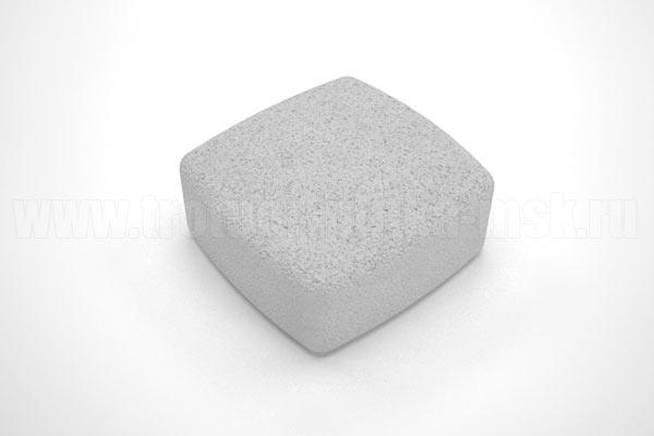 плитка классика вибропресс белая