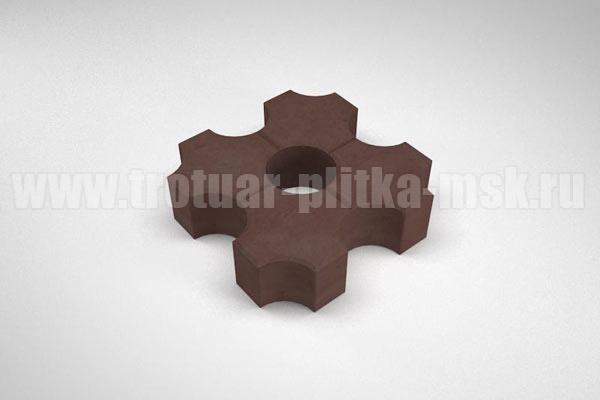 плитка эко коричневая