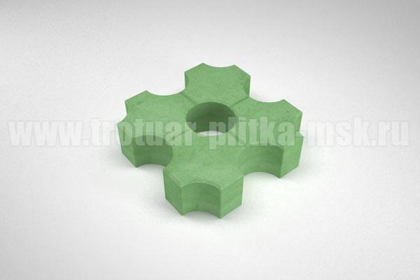 плитка эко зеленая