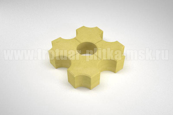 плитка эко желтая