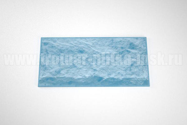 фасадная плитка (270*127) синяя