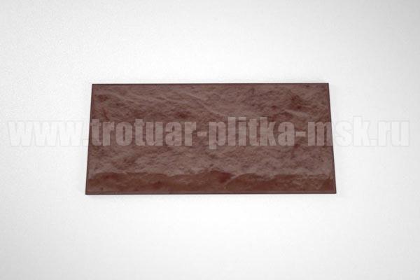 фасадная плитка (270*127) коричневая