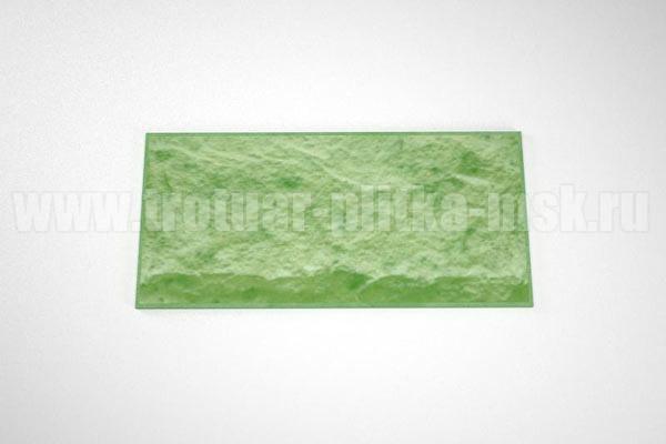 фасадная плитка (270*127) зеленая