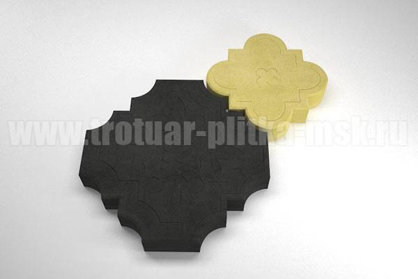 плитка гжелка черная с желтой