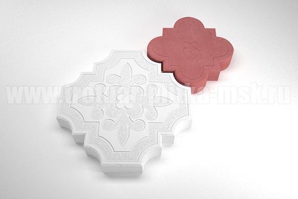 плитка гжелка белая с красной