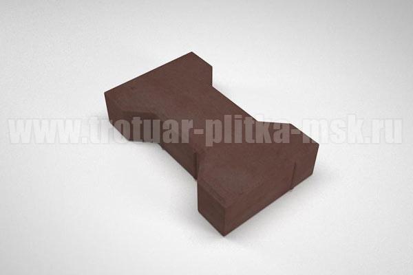 плитка катушка коричневая
