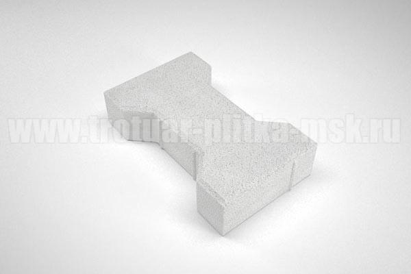 плитка катушка вибропресс белая