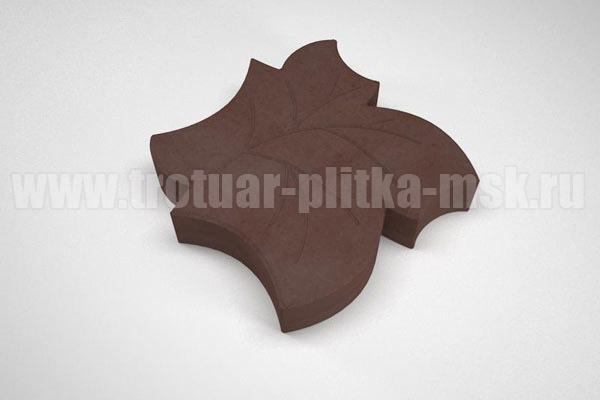 плитка клен коричневая