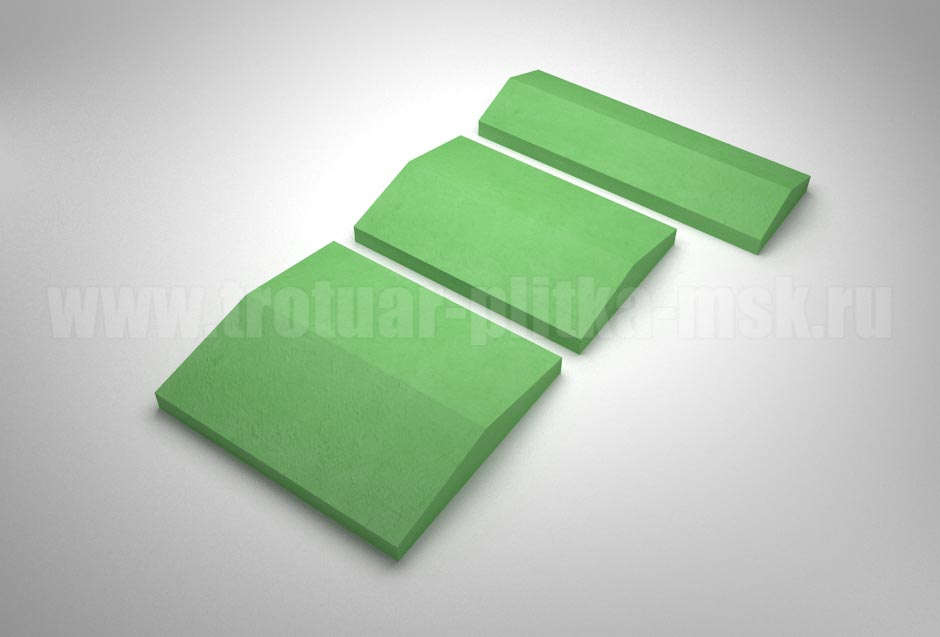 крышки на забор зеленые