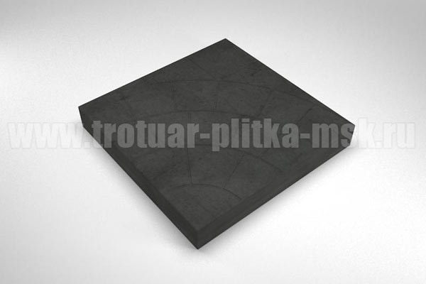 плитка паутина-35 черная