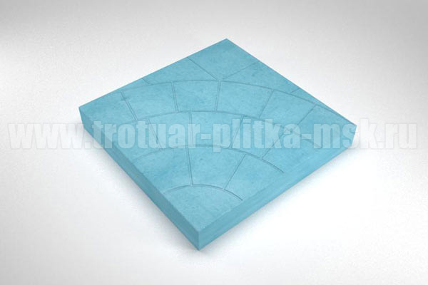 плитка паутина-35 синяя