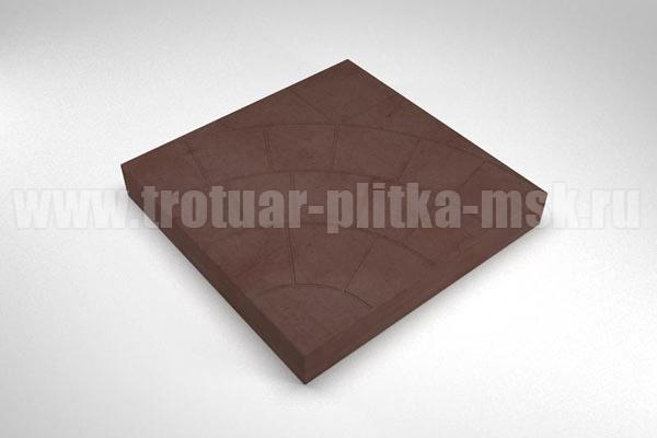плитка паутина-35 коричневая