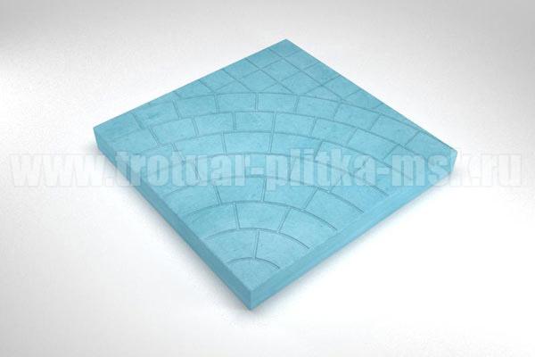 плитка паутина-40 синяя