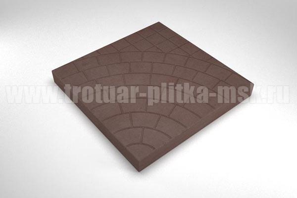 плитка паутина-40 коричневая