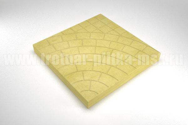 плитка паутина-40 желтая