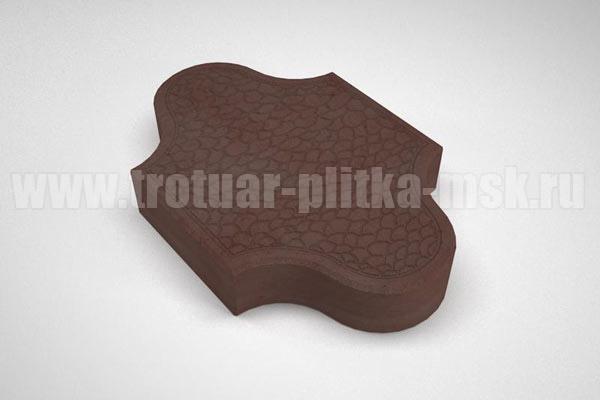 плитка рокко коричневая