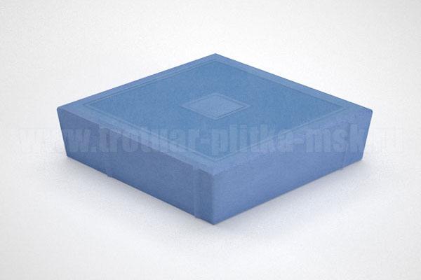 плитка ромб синяя