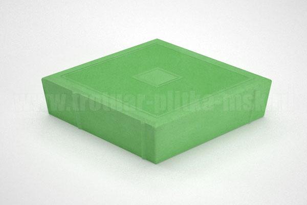 плитка ромб зеленая