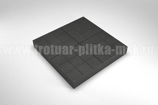 плитка сетка черная