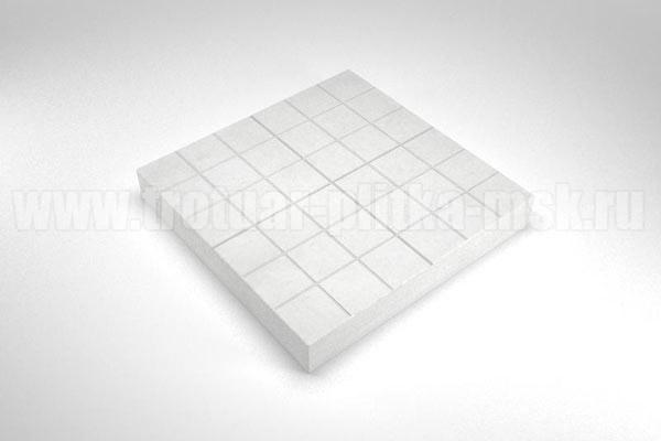 плитка сетка белая