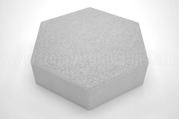 плитка шестигранник белая