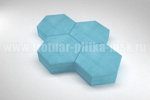 плитка cоты синяя