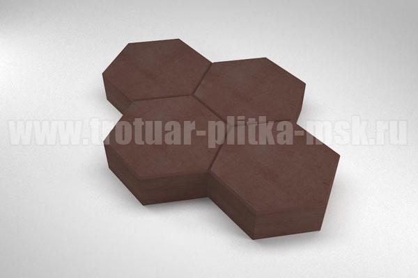 плитка cоты коричневая