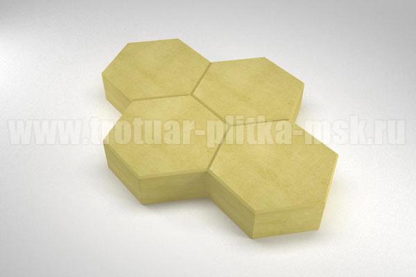 плитка cоты желтая