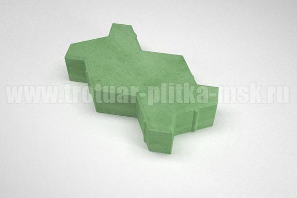 волна зеленая