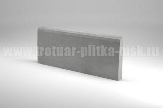 бордюр 500x200x40 серый