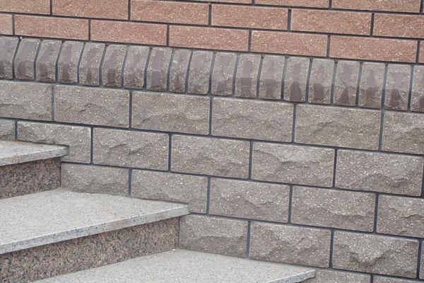 облицовка цоколя фасадной плиткой