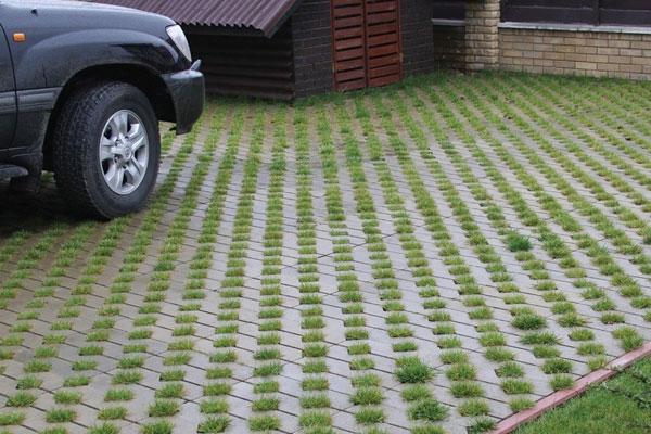 тротуарная плитка для парковки