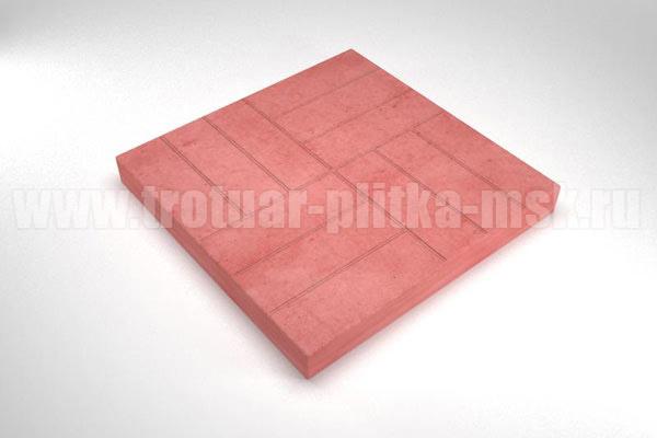 плитка 12 кирпичей красная